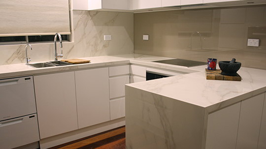 Porcelain Benchtop - Stone Solutions Sydney