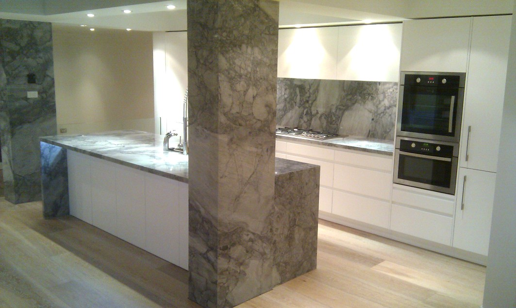 Stone Benchtop Schaffer Kitchen Project Paddington