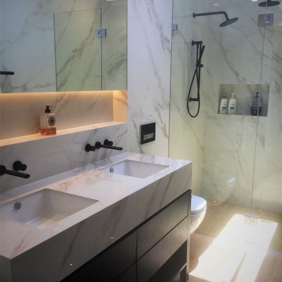Schaffer Paddington Marble Bathroom Stonemason Sydney