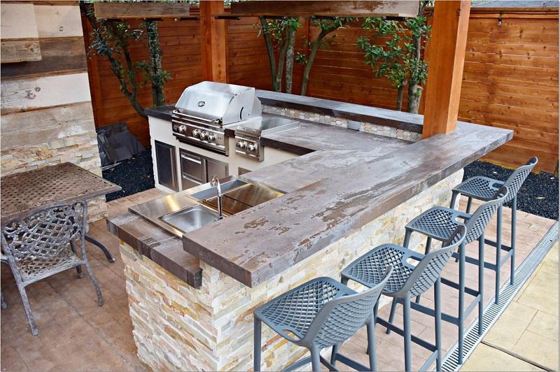 Dekton Barbecue Benchtop Sydney - Trilium