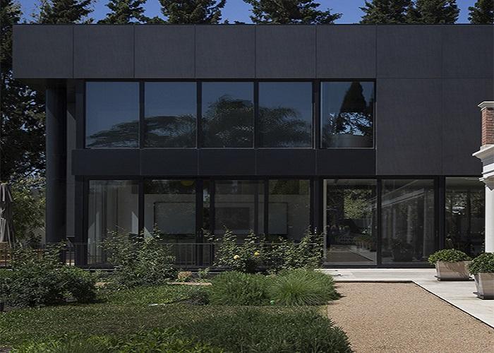 Stone Solutions - Neolith Basalt Black - Facade - Sydney Installation