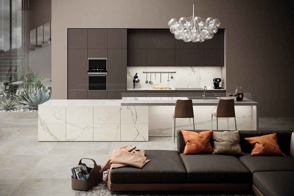 Stone Solutions - Smartstone Atlas Plan Calacatta Extra - Porcelain Benchtop - Sydney Installation