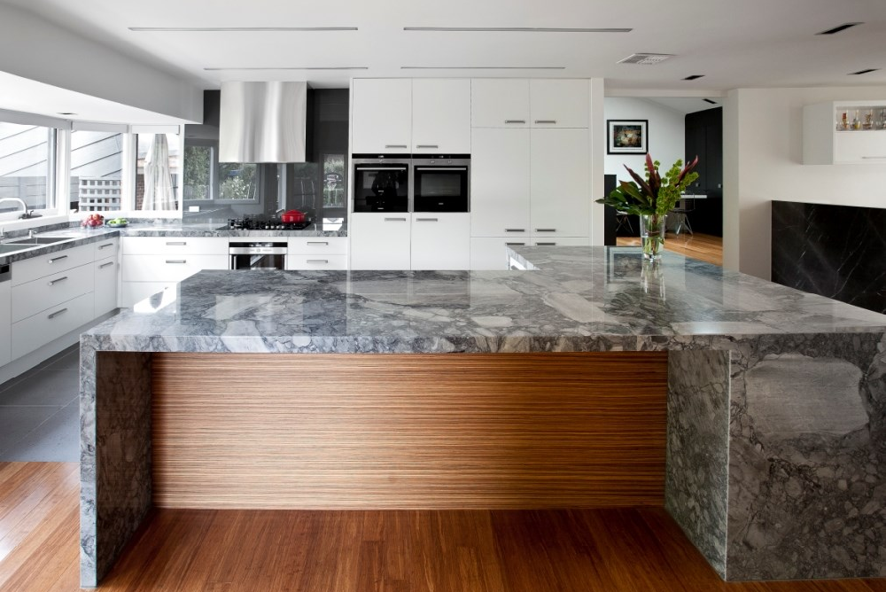 Stone Solutions - WK Stone - Natural Stone - Marble - Sydney Benchtop Installation