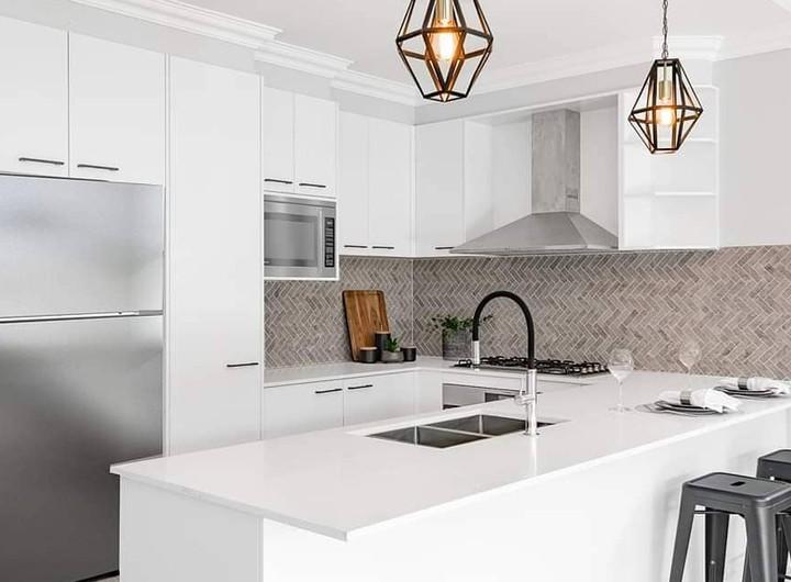 Nieve White Smartstone Kitchen Benchtop Sydney