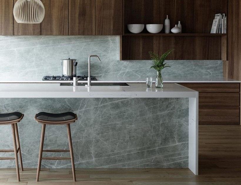 Neolith Porcelain Stone Kitchen Benchtop Sydney -Zaha-Stone
