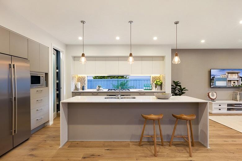 Caesarstone Kitchen Stone Countertop Sydney - Nougat -Stonemason