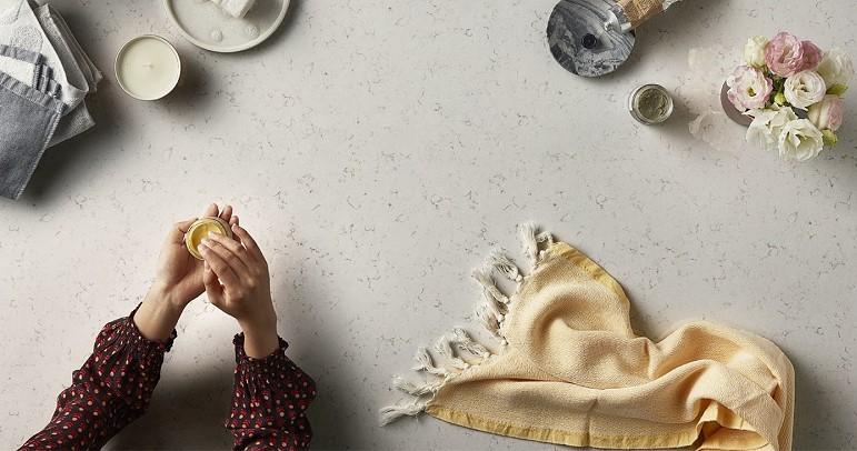 Essastone Stone kitchen Countertop - Fino - Venato by Laminex