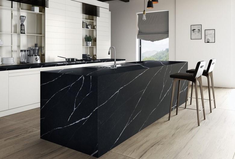 Silestone Stone Kitchen Countertop Sydney - Marquina
