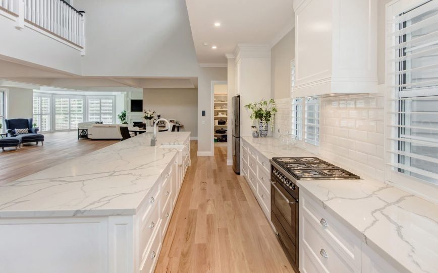 Smartstone Sydney Kitchen Countertop Statuario Venato