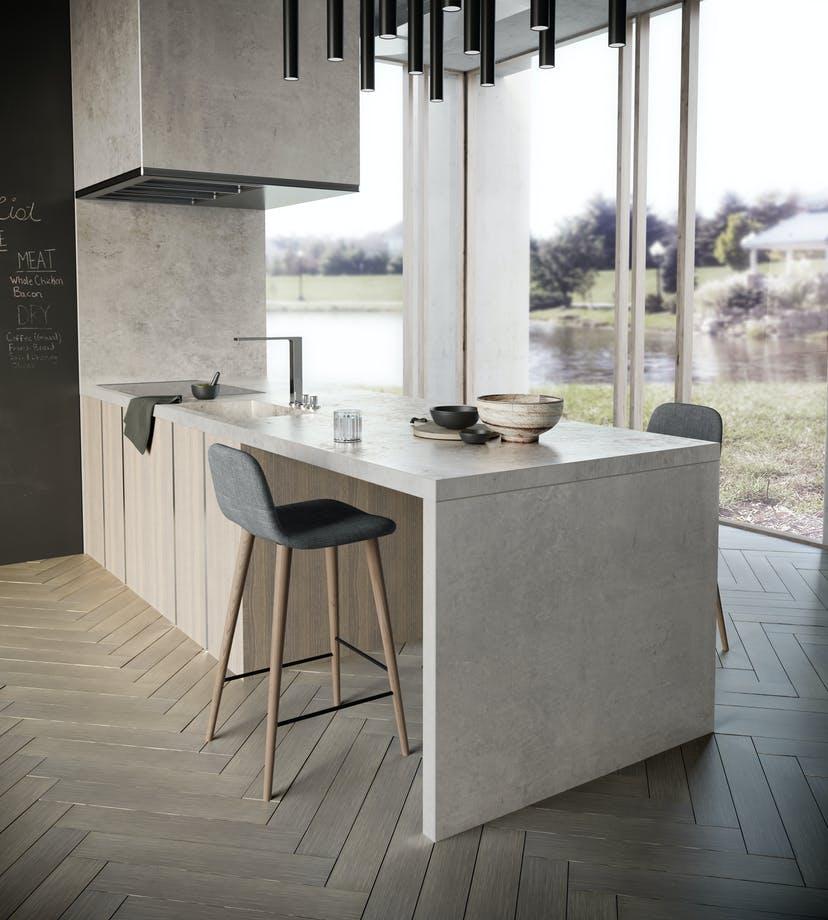 This image has an empty alt attribute; its file name is dekton-porcelain-benchtop-sydney-kitchen-kreta.jpg